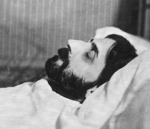 מרסל פרוסט על מיטת מותו